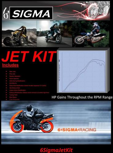 6 Sigma Performance Jet Kit