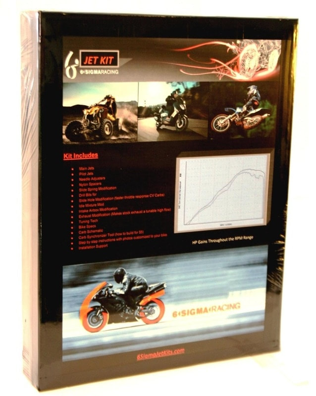 Qlink XF 200 SuperMotard Jet Kit
